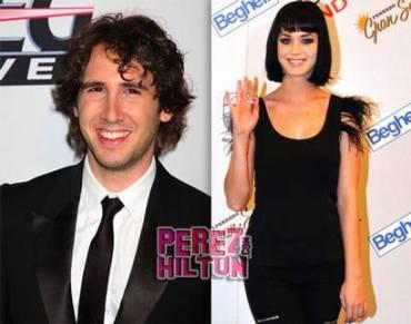 Perez Hilton is telling me that Josh Groban & Katy Perry are a couple…